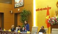 Vollversammlung des Justizausschusses des Parlaments