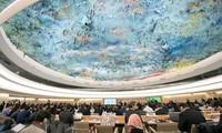 Vietnam leistet große Beiträge auf der Sitzung des UN-Menschenrechtsrates