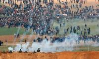 Viele Tote und Verletzte an der Grenze zwischen Israel und Palästina