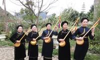 Einzigartigkeit beim Festival des Then-Gesangs und der Tinh-Musikinstrumente