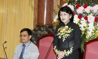 Vizestaatspräsidentin Dang Thi Ngoc Thinh empfängt Delegation aus Kon Tum