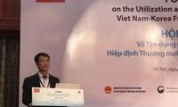 Nutzung der Prioritäten des Freihandelsabkommens zwischen Vietnam und Südkorea