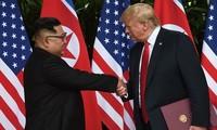 Gemeinsame Erklärung  der USA und Nordkoreas über neue bilaterale Beziehungen