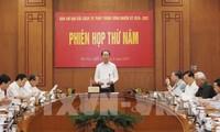 Staatspräsident Tran Dai Quang leitet Sitzung des Rates zur Justizreform