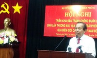 Vizepremierminister Truong Hoa Binh über Kampf gegen illegalen Grenzhandel im Südwesten