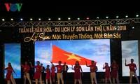 Eröffnung der Woche der Kultur und des Tourismus auf Ly Son
