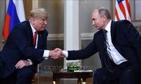 US-Präsident Donald Trump verteidigt Beziehungen zu Russlands Präsidenten