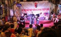 Musik in der Altstadt Hanois, ein attraktiver Kulturraum
