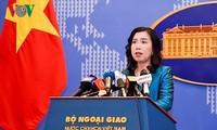 Pressekonferenz des vietnamesischen Außenministeriums