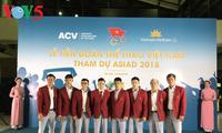 Abflug der vietnamesischen Sportdelegation zum ASIAD 2018 in Indonesien