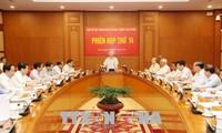 Sitzung des Zentralrates der Partei zur Bekämpfung der Korruption