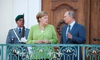 Russland und Deutschland diskutieren viele Themen