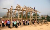 Kultur der Volksgruppe der Thai durch das Wohnen in Pfahlhäusern