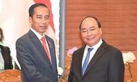 Premierminister Nguyen Xuan Phuc trifft indonesischen Präsidenten
