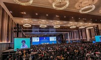 Gipfelkonferenz des Handels in Vietnam