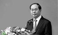 Spitzenpolitiker der Länder schicken Beileidstelegramme zum Tod vom Präsidenten Tran Dai Quang