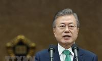Südkoreanischer Präsident fördert Dialog zwischen USA und Nordkorea