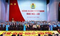 Abschluss der Landeskonferenz der vietnamesischen Gewerkschaften