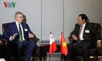 Vizepremierminister, Außenminister Pham Binh Minh führt bilaterale Gespräche in der UNO