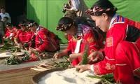 Das Cap Sac-Fest der Volksgruppe der Pa Then in Ha Giang