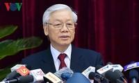 2. Arbeitstag der ZK-Konferenz in Hanoi