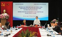 """Forum über """"Einheitlichkeit zwischen Gesetz zur Bekämpfung der Korruption und der betroffenen Gesetzen"""
