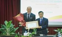 Legendärer Golfspieler Greg Norman ist Botschafter für Tourismus Vietnam