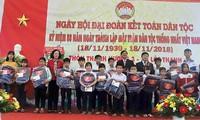 Spitzenpolitiker nehmen an Aktivitäten zum Tag der Solidarität in Vietnam teil