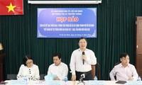 Ho Chi Minh Stadt bereitet sich auf Inbetriebnahme der vier Zentren für Smart-City vor