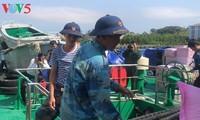 Warentransport auf Truong Sa-Insel