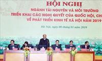 Ministerium für Ressourcen und Umwelt beginnt mit diesjährigen Aufgaben