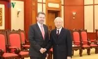 KPV-Generalsekretär, Staatspräsident Nguyen PhuTrong empfängt Vorsitzenden des australischen Senats