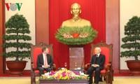 Vorsitzender des australischen Senats beendet Vietnambesuch