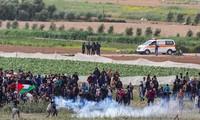 Mindestens vier Palästinenser wurden bei der Kundgebung in Gaza getötet