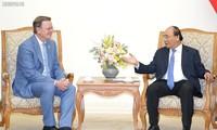 Premierminister Nguyen Xuan Phuc empfängt Ministerpräsident von Thüringen