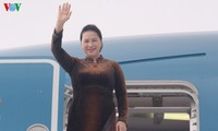 Parlamentspräsidentin Nguyen Thi Kim Ngan beendet Auslandsbesuche