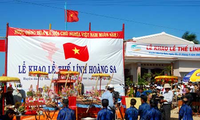 Inselkreis Ly Son organisiert Fest für Verdienste der einstiegen Soldaten