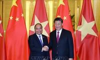 Premierminister Nguyen Xuan Phuc beendet seinen China-Besuch