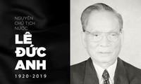 Vietnamesische Bürger zeigen Mitgefühl zum Tode von Le Duc Anh