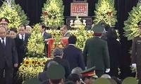 Kondolenzbesuche beim ehemaligen  Staatspräsident Le Duc Anh