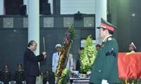 Spitzenpolitiker der Länder schicken Beileidstelegramme zum Tod von Le Duc Anh