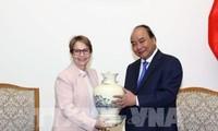 Premierminister Nguyen Xuan Phuc empfängt Landwirtschaftsministerin aus Brazilien