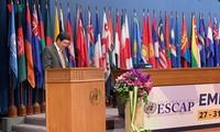 Vietnam nimmt an Sitzung von ESCAP teil