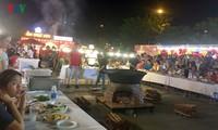 Eröffnung des internationalen kulinarischen Festivals in Danang