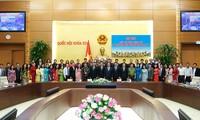 Junge Abgeordnete sollten sich für Entwicklung des Landes einsetzen