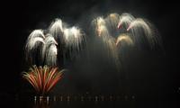 Zweiter Wettbewerbstag beim Feuerwerksfestival in Danang