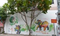 'Fahrt mit Wildkunst' durch Vietnam zum Schutz der Wildtiere