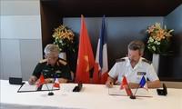 Vietnam und Frankreich wollen Zusammenarbeit im Bereich der Verteidigung effizienter gestalten