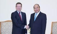 Premierminister Nguyen Xuan Phuc empfängt französischen Botschafter
