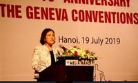 Feier zum 70. Jahrestag der Genfer Konventionen